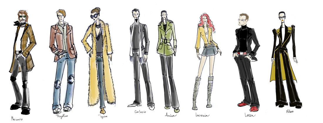 how to write a costume design rationale